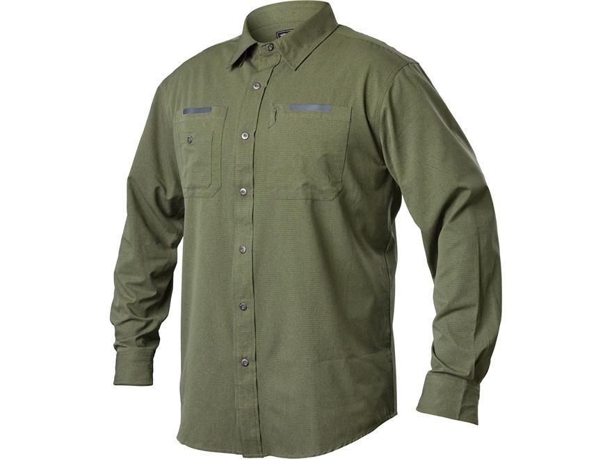 Blackhawk men 39 s tac flow button up shirt long sleeve for Polyester button up shirt