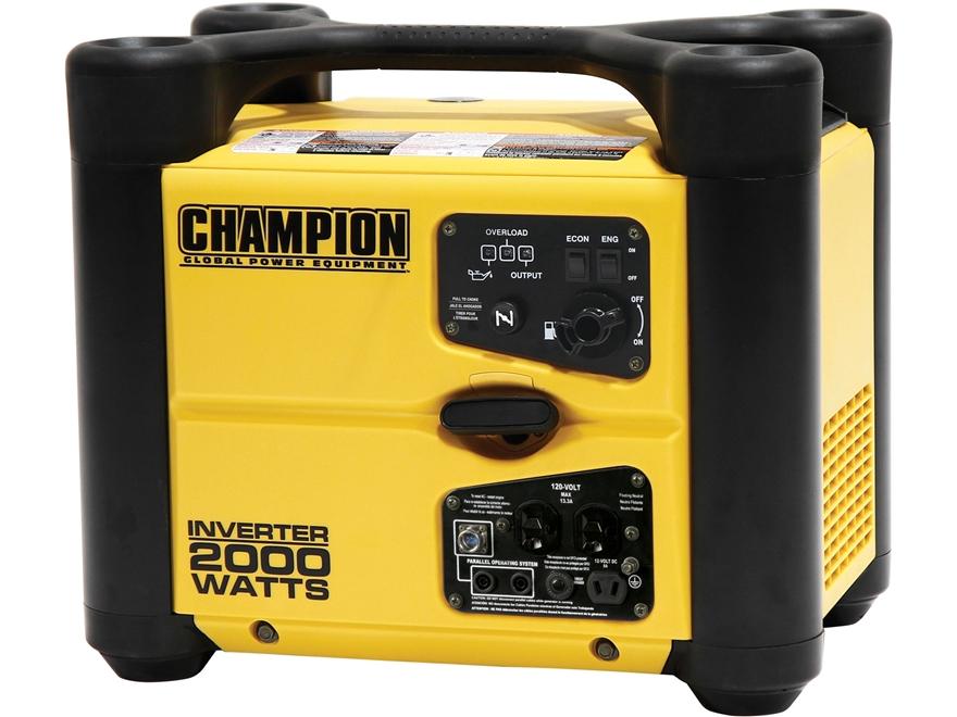 Champion 1700 2000 Watt Gas Powered Inverter Generator