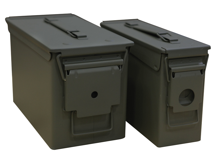 Mil-Spec Ammo Can 2-Can Combo Pack 50 and 30 Caliber