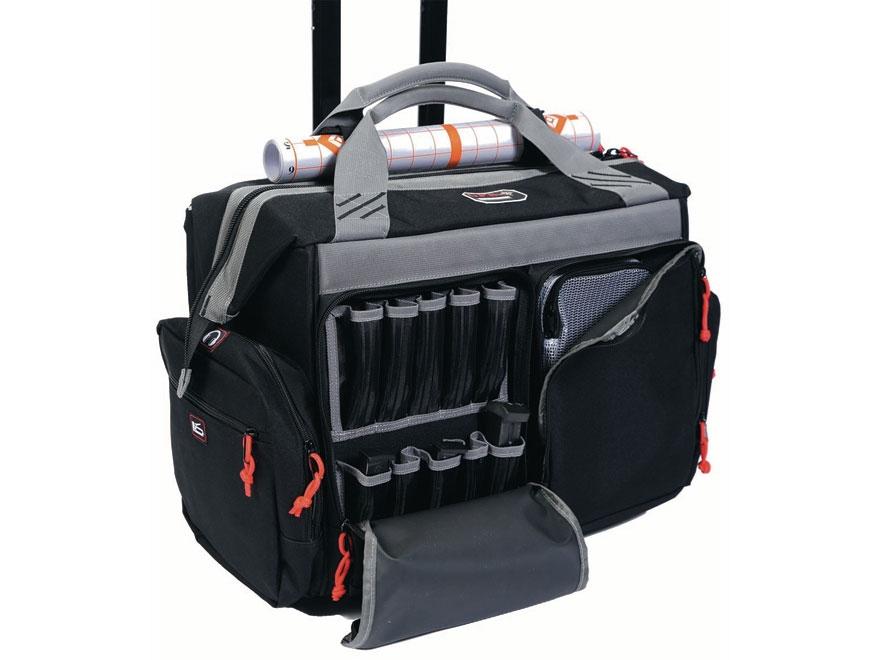 Rolling Range Bag Black Mpn Gps
