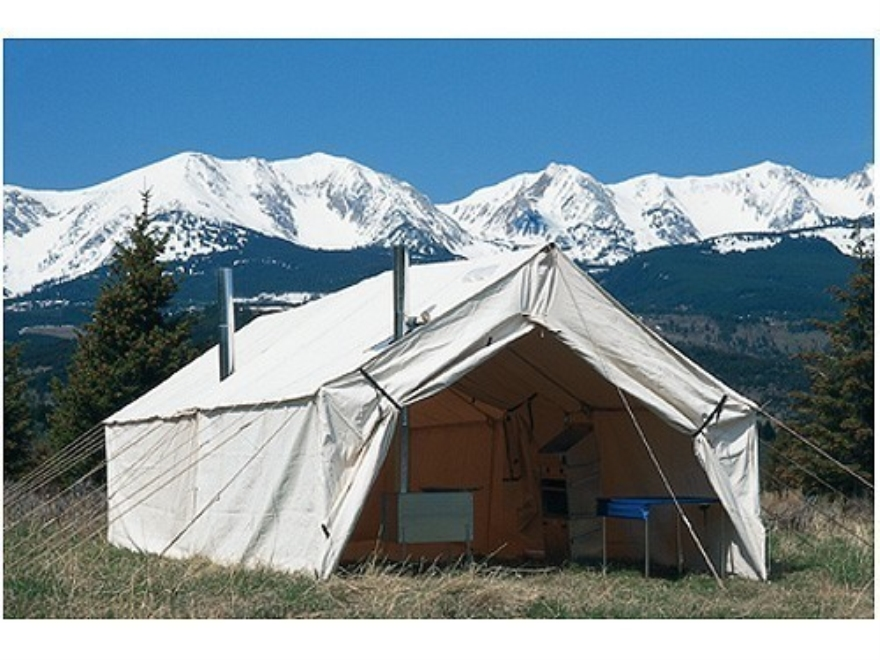 Montana canvas 10 39 x 12 39 cook shack 10oz canvas mpn 95 for Canvas wall tent reviews