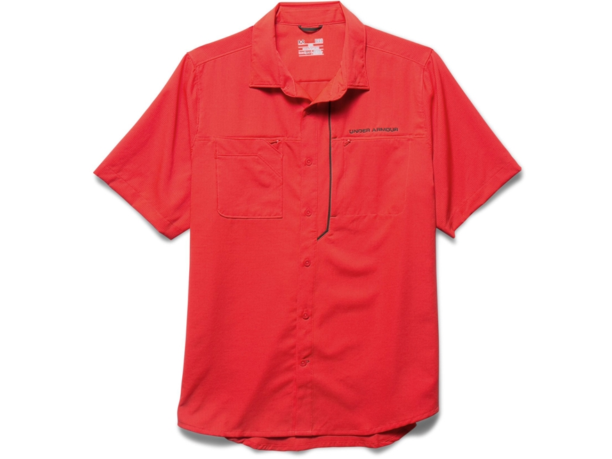 Under armour men 39 s ua armourvent fishing shirt upc for Polyester fishing shirts