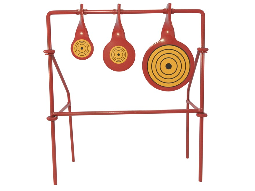 Swinging metal targets