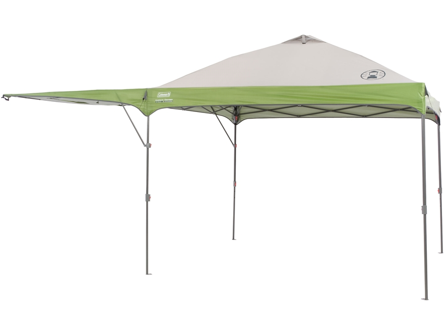 Coleman Shelters And Canopies : Coleman instant shelter swing wall polyester mpn