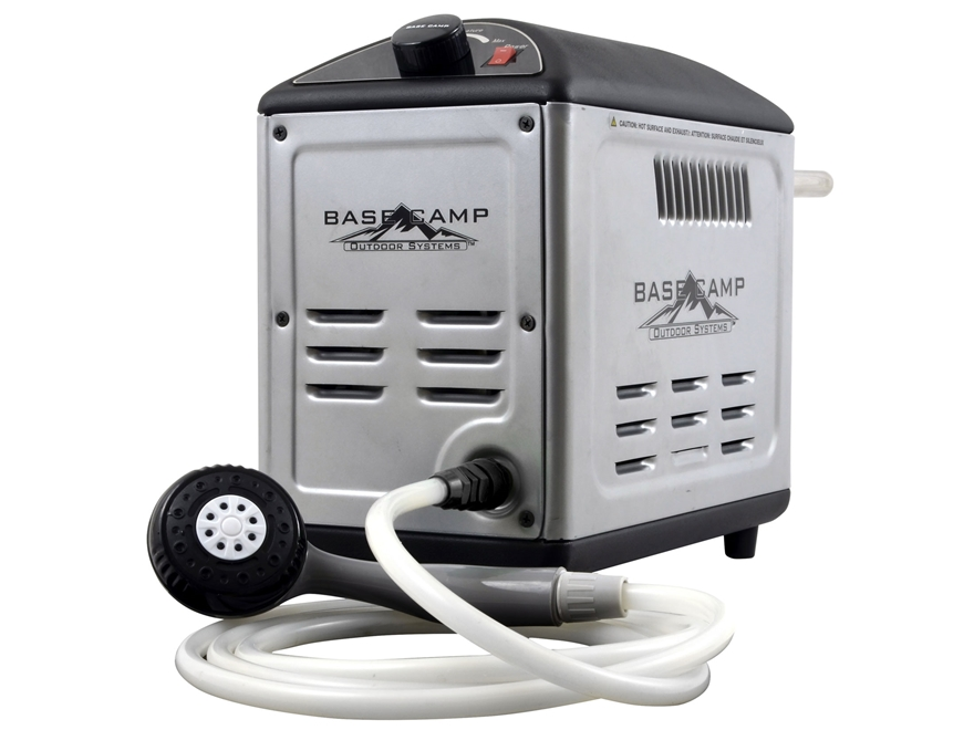 Portable Shower Base : Mr heater base camp xb battery operated portable mpn
