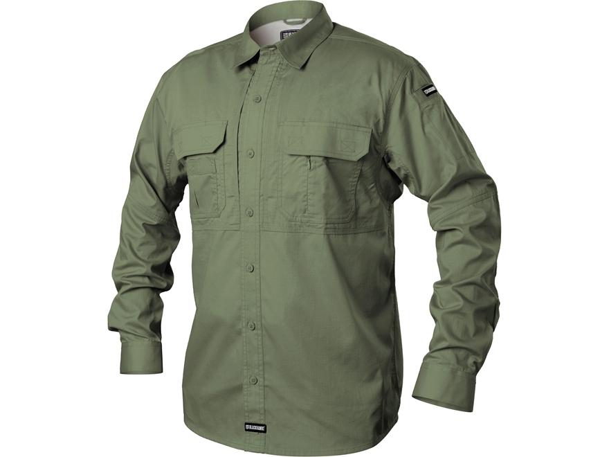 Blackhawk Men 39 S Pursuit Button Up Shirt Long Sleeve Poly